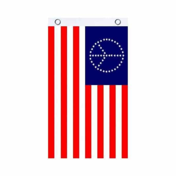 USA Peace Fly Flag - BG Sales (4540861481092)
