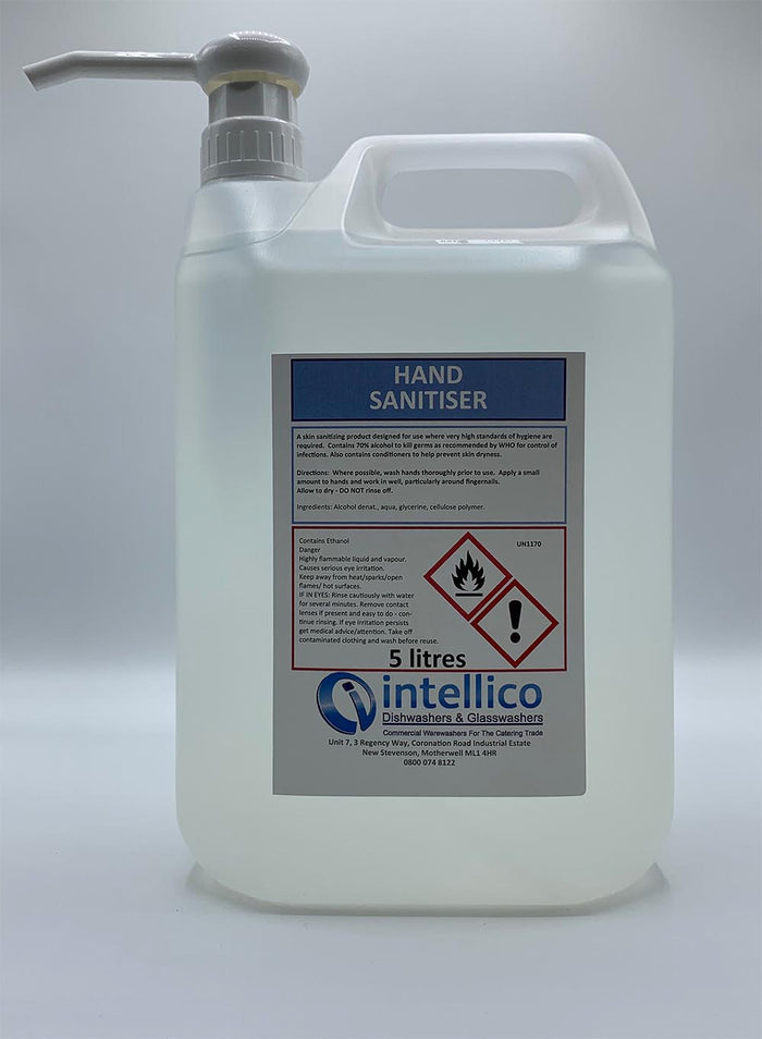 Instant Hand Sanitiser 20 Litres (Price below is for 4 x 5 litres)