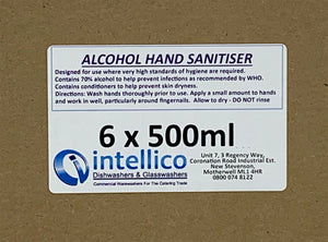 Instant Hand Sanitiser 3 Litres (Price below is for 6 x 500ml)