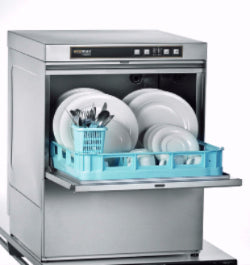Hobart Ecomax F504 & F504S Frontloading Commercial Dishwasher