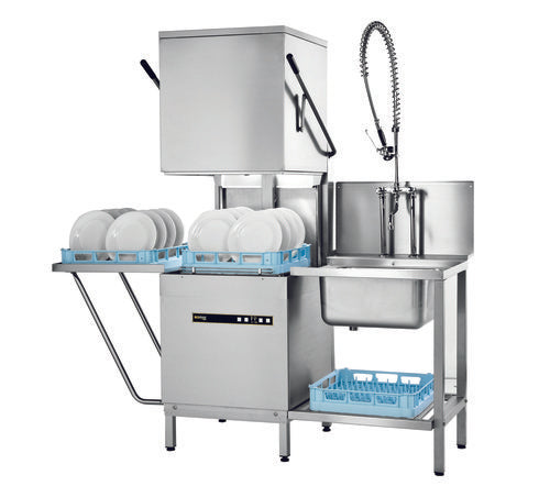 Hobart Ecomax H602(s) Pass Through Dishwasher
