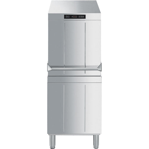 SMEG Ecoline HTY505D(S) Commercial Pass Through Dishwasher