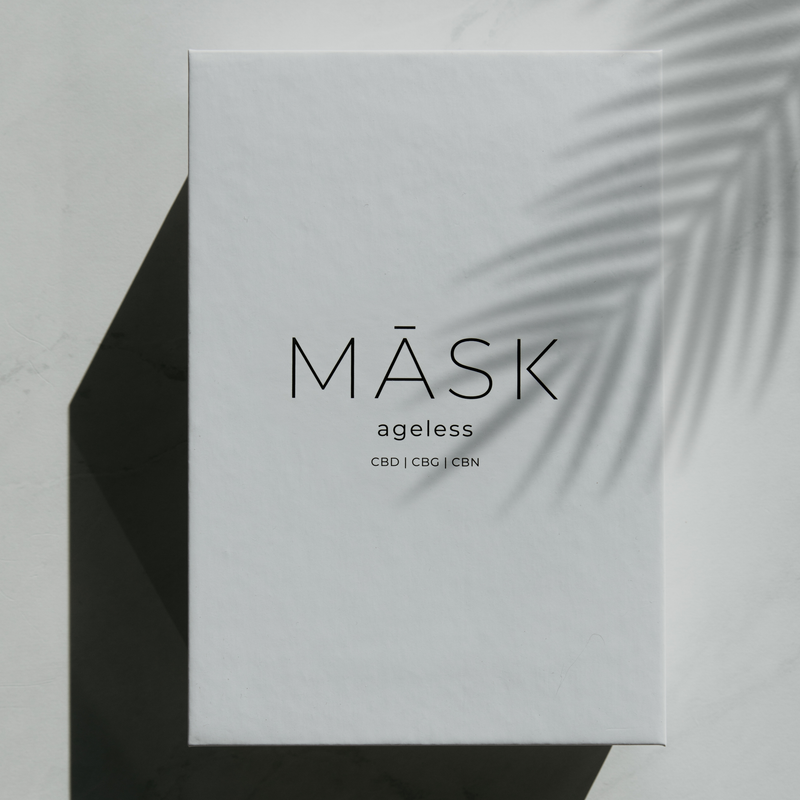 AGELESS - CBD Anti-Aging Sheet Mask