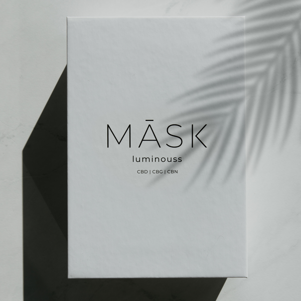 LUMINOUSS - Hydrating & CBD Moisturizing Sheet Mask