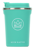 Neon Kactus Reusable Insulated Coffee Cup – Make Waves 12oz
