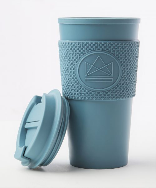 Neon Kactus Double Walled Coffee Cup – Super Sonic 16oz