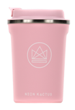Neon Kactus Reusable Insulated Coffee Cup – Pink Flamingo 12oz