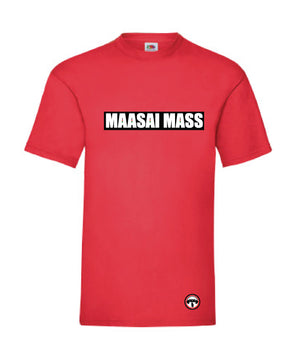 Mwanzo mens t-shirt red