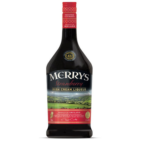 Merrys Irish Cream Jordbær likør 17%
