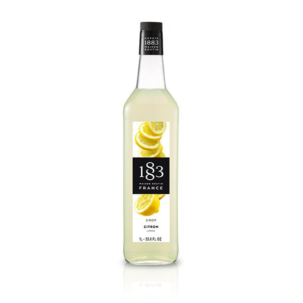 1883 sirup med citron