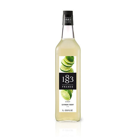 1883 Lime sirup