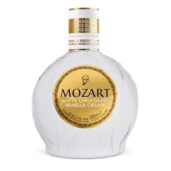 mozart-white chocolate vanilla cream