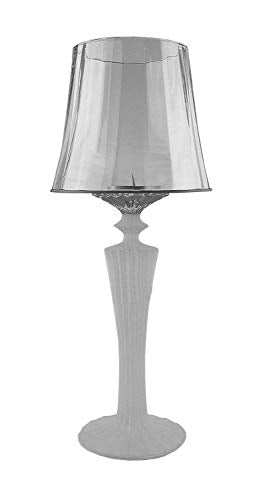 Baccarat Mille Nuits Frosted Crystal Lantern Candle Holder 19