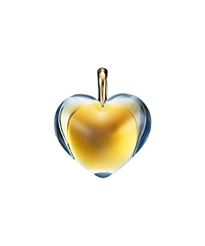Baccarat Romance Yellow Gold Scarabee Heart Pendant.18K Gold NO Box.
