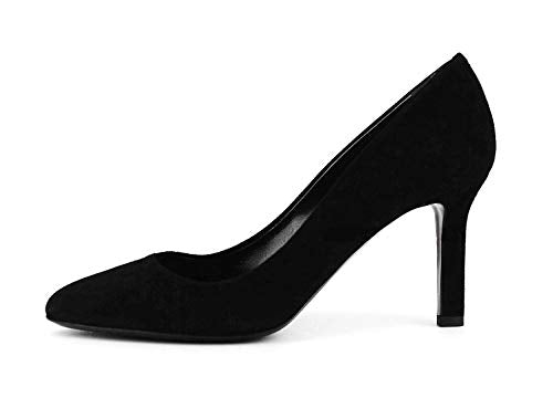 Tamara Mellon Shoes Designer Jimmy Choo Black Suede Leather 3