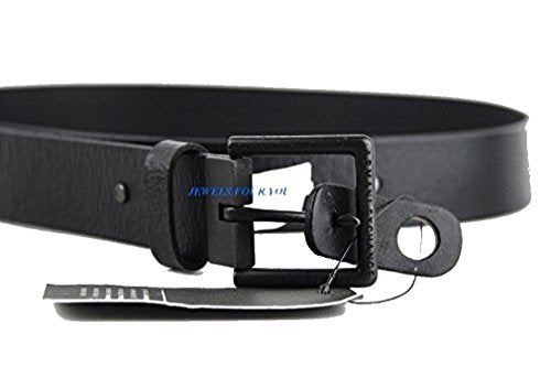 A/X Armani Exchange Belt Black 100% Cow Leather Brand New E6BE723 Size 32