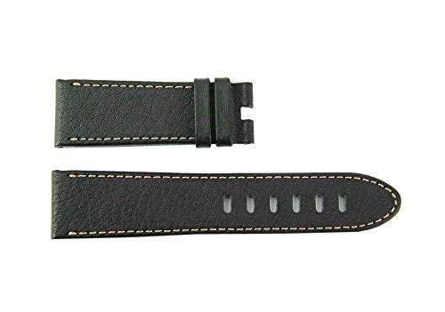 MONTBLANC TIMEWALKER XL Brown Calf Leather Strap 5.5