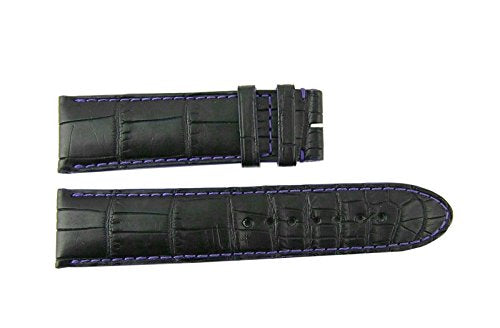 MONTBLANC Star RIEUSSEC Black Alligator Strap 117/74/22 mm 107026#5