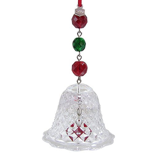 Baccarat 2014 Diamant Crystal Bell Ornament