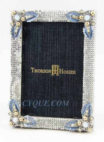 Thorson Hosier Swarovski Crystals 5 X 7 Frame New Box Made in USA
