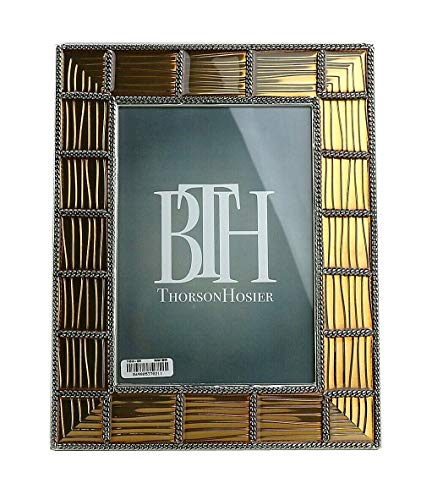 Thorson Hosier 5x7 Bogata Metal Golden Enamel Frame
