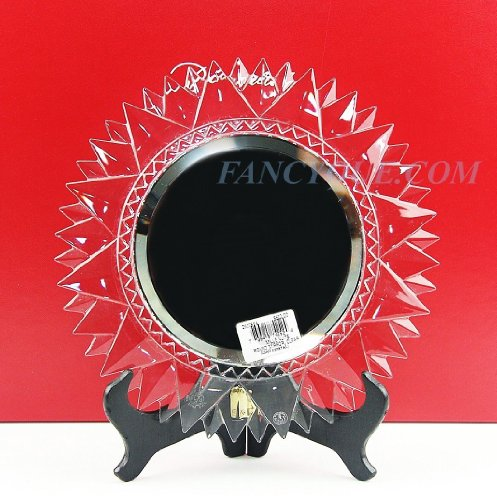 BACCARAT WALL MILLE NUITS ROUND MIRROR SIGNED MATHIAS CRYSTAL 10 1/8
