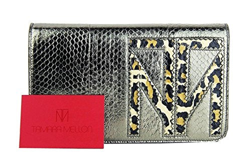 Tamara Mellon Gray Enjoy Bag/Clutch, Brand New, Made in Italy