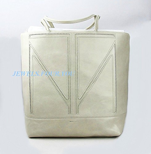 TAMARA MELLON CHIEF DESIGNER JIMMY CHOO LARGE CREAM TOTE HANDBAG NEW ITALY $1095