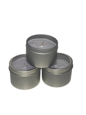 CANDLE IN A TIN -- 3 PACK