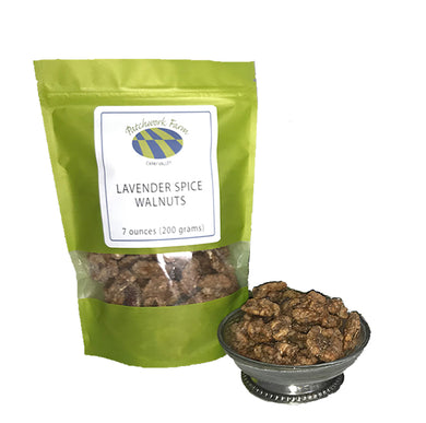 LAVENDER SPICE WALNUTS-- 3 FOR $25