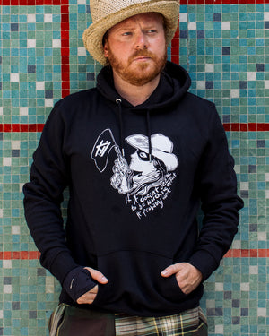 Cow Girls Worth the Effort Hoodie - Black