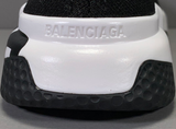 Balenciaga Sock Women's Shoes Black White Black Baskets Speed