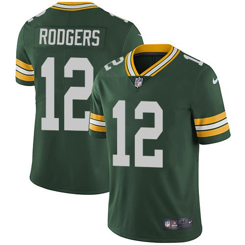 Aaron Rodgers #12 Jersey NFL Green Bay Packers - BH Sport