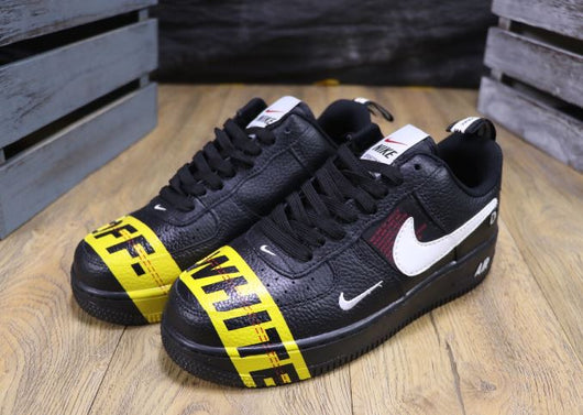 Air Force Low OFF-WHITE Black Utility - BH Sport
