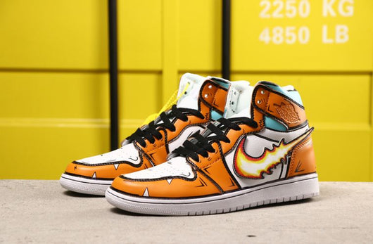 Air Jordan 1 Orange Fire - BH Sport