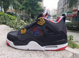 Air Jordan 4 Black Multi-Colors - BH Sport