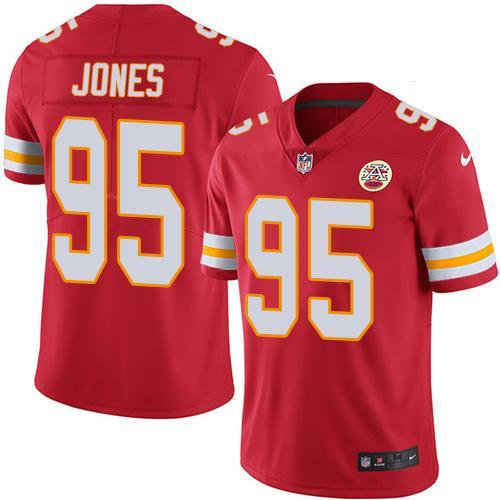 Chris Jones #95 Jersey NFL Kansas City Chiefs - BH Sport