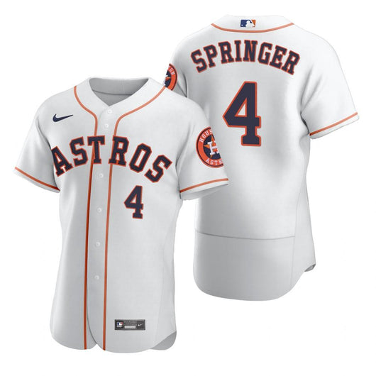 George Springer #4 Jersey MLB Houston Astros - BH Sport