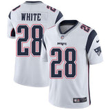 James White #28 Jersey NFL New England Patriots - BH Sport