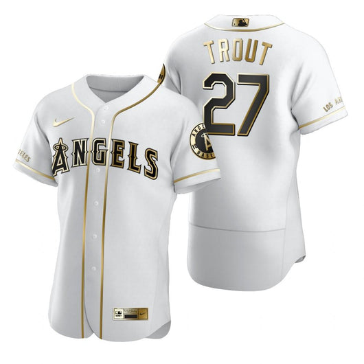 Mike Trout #27 Jersey MLB Los Angeles Angels - BH Sport