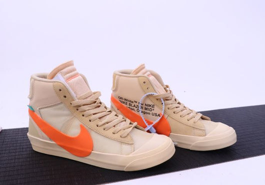 Nike Blazer Mid Brown OFF-WHITE Beaverton Oregon USA - BH Sport