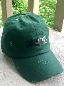 'MEvsME' Distressed Hat