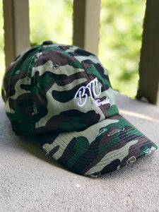 BTC Threadz Logo Distressed Hat