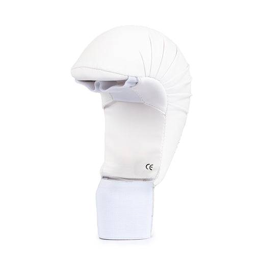 White Karate Glove