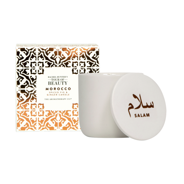 Rachel Hunter's Tour of Beauty - Morocco - Spiced Fig and Ginger Candle