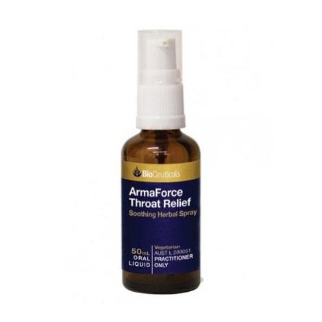 BIOCEUTICALS ArmaForce Throat Relief Spray 50ml