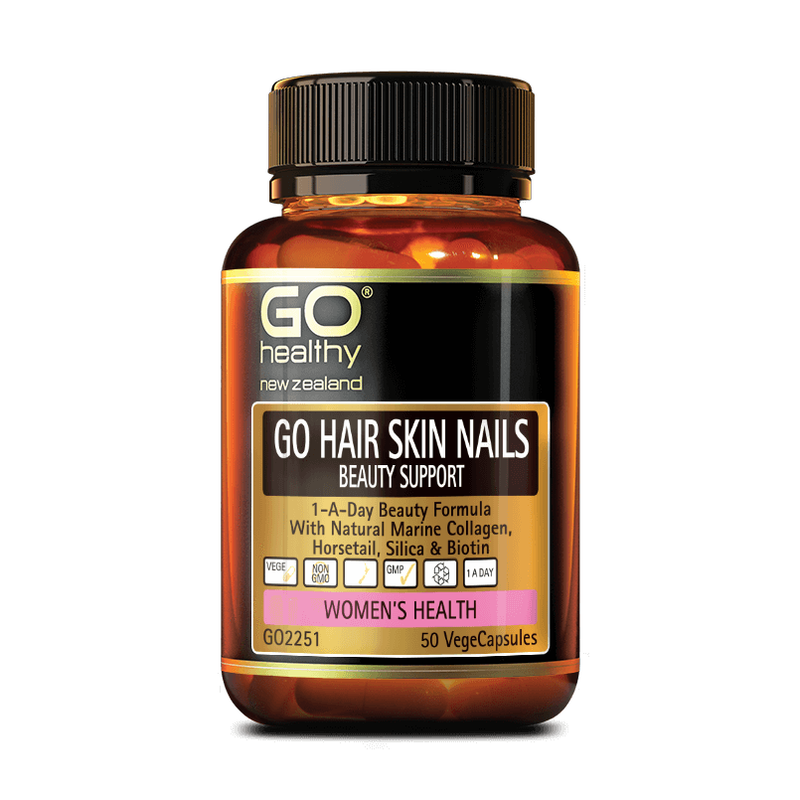 GO Hair Skin Nails Beauty Support 50's