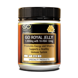 GO Royal Jelly 1,000mg 180's