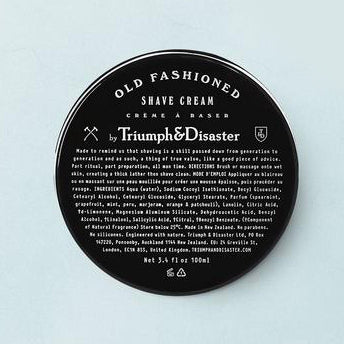Triumph&Disaster Old Fashioned Shave Cream Jar 100ml