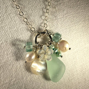 Sea Glass Treasure Necklace
